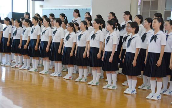 鶴岡北高等学校制服画像